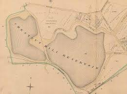 Chestnut Hill Reservoir map