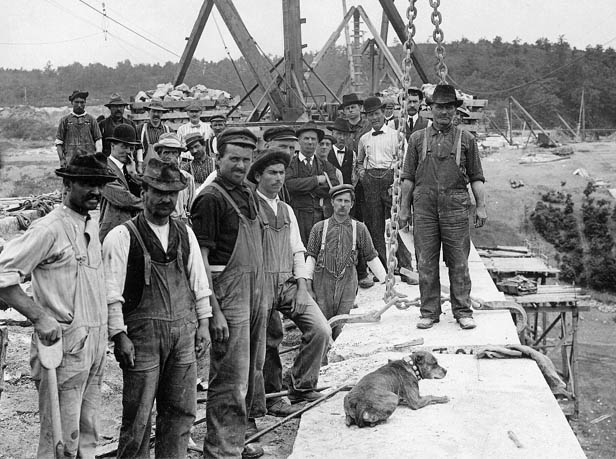 Wachusett Reservoir Work Crew
