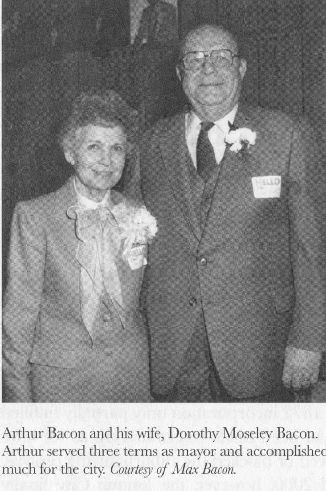 Arthur & Dorothy Baconnurse 1951