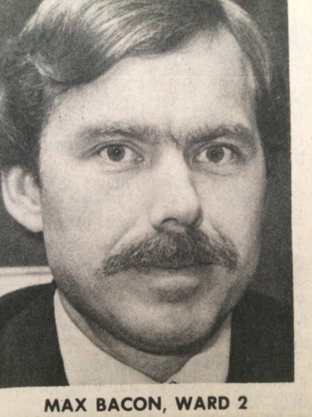59.Max Bacon as City Council candidate, SN1983