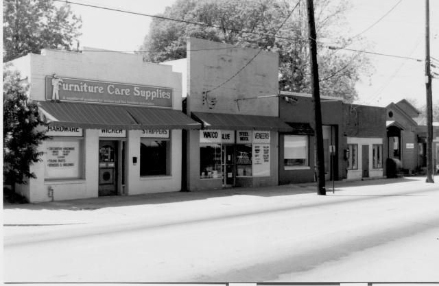 9. Downtown Smyrna, west side, as it appeared in the 1950s copy