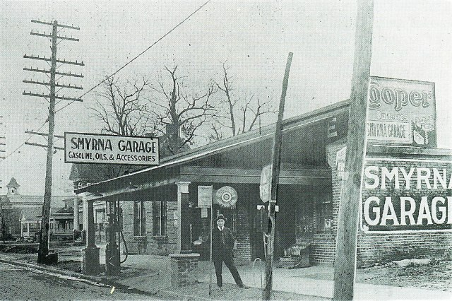 9. D. C. Osborne at the Smyrna Garage.jpg